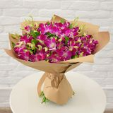 Beautiful lovely bouquet for flower shop royalty free stock photo