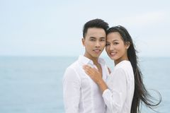 Beautiful lovers Royalty Free Stock Photography