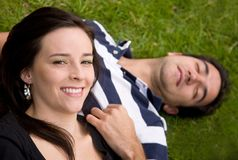 Beautiful loving couple Royalty Free Stock Photos