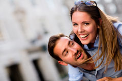 Beautiful loving couple Royalty Free Stock Photography