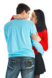 Beautiful loving couple Stock Photography