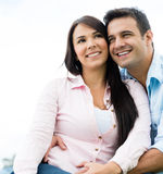 Beautiful loving couple Royalty Free Stock Image