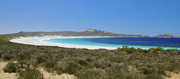 Beautiful Lucky Bay Stock Photography