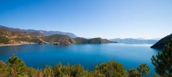 Beautiful Lugu lake Royalty Free Stock Photos