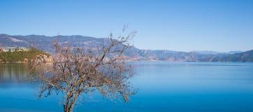 Beautiful Lugu lake Stock Image