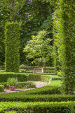 Beautiful lush and green garden Stock Photos