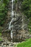 Beautiful Lush Waterfall. Mencune Waterfall, Beautiful Lush Waterfall stock photo
