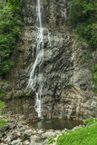 Beautiful Lush Waterfall Stock Images