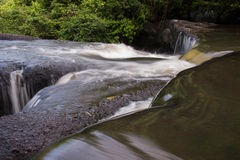Beautiful Lush Waterfall. Suez innovation we waterfall in thailand stock images
