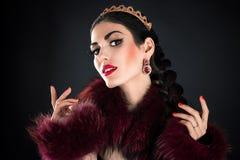 Beautiful luxurious princess Royalty Free Stock Photos