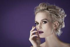 Beautiful luxurious woman Royalty Free Stock Photos