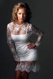 Beautiful luxurious woman Royalty Free Stock Photography