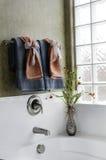 Beautiful luxury bathroom stock photography