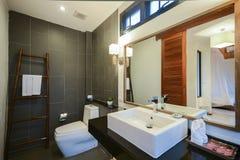 Beautiful luxury bathroom good design Stock Photos