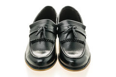 Beautiful luxury and casual leather men shoes Royalty Free Stock Image