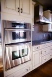 Beautiful luxury kitchen appliances Stock Image