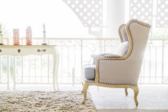 Beautiful luxury sofa Royalty Free Stock Photos