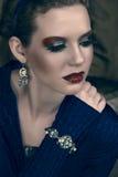 Beautiful luxury woman Stock Photography