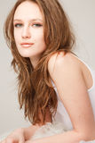 Beautiful lying girl Royalty Free Stock Photos