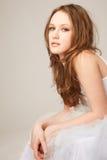 Beautiful lying girl Royalty Free Stock Photography