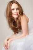 Beautiful lying girl Stock Image