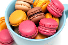 Beautiful macarons Royalty Free Stock Photo