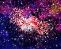 Free Beautiful Magic Fireworks Stock Images - 94790274