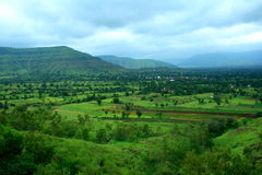 Beautiful Mahabaleshwar landscape Royalty Free Stock Images