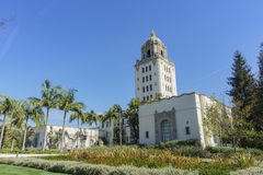 Beautiful main building of Beverly Hills city hall Royalty Free Stock Photos