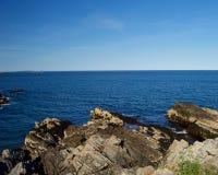 Beautiful Maine Coastline Stock Images