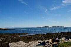 Beautiful Maine Coastline Royalty Free Stock Images