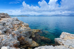 Beautiful Majorca lagoon Royalty Free Stock Photos