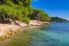 Beautiful Majorca sea coast Stock Photos