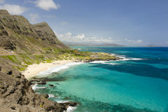 Beautiful Makapuu Beach Royalty Free Stock Image