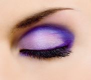 Beautiful make-up Stock Photo