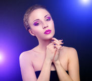 Beautiful make-up Royalty Free Stock Image