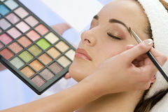 Beautiful Make Up Stock Images