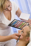 Beautiful Make Up Stock Photography