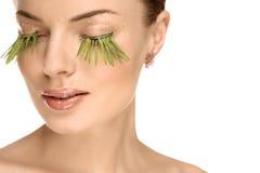 Beautiful make-up Royalty Free Stock Photo