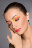 Beautiful make-up. Royalty Free Stock Images