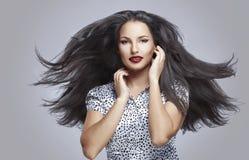 Beautiful make up and hair Royalty Free Stock Photo