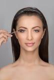 Beautiful make-up. Stock Photos