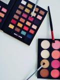 A beautiful make up set stock image