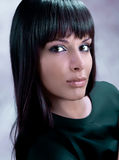 Beautiful make-up woman Royalty Free Stock Image