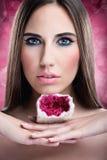 Beautiful make up woman Stock Images