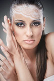 Beautiful make up woman Stock Image