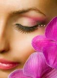 Beautiful Makeup Stock Photography
