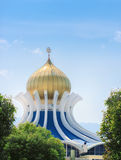 Beautiful Malaysian Mosque Royalty Free Stock Photography