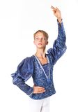 Beautiful male ballet dancer Royalty Free Stock Images