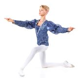 Beautiful male ballet dancer Royalty Free Stock Photo
